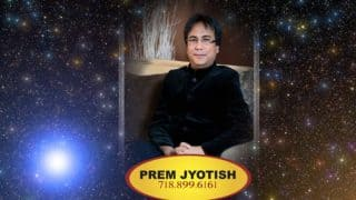 One-on-One with Astrologer Numerologist Prem Jyotish: Sept 3 - Sept 24