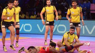 प्रो कबड्डी लीग: गुजरात फॉर्च्यूनजायंट्स ने तेलुगू टाइटंस को 29-19 से धोया