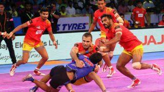 प्रो कबड्डी लीग: हरियाणा और गुजरात ने खेला इस सीजन का पहला टाई