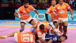 Pro Kabaddi League 2017: Puneri Paltan Narrowly Beat UP Yoddha 34-33