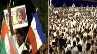 Rajinikanth's Fans Gather in Trichy, Urge the Superstar to Join Politics