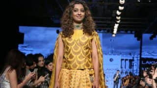 Radhika Apte Bedazzles As the Showstopper for Designer Sailesh Singhania on Day 3 of Lakme Fashion Week 2017