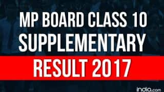 MP Board Class 10 Supplementary Result 2017 Expected Today: Here's How You Can Check