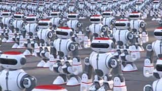 This Large Group Of Dancing Robots in China Just Set A Guinness World Record (Watch Video)