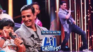 Sa Re Ga Ma Pa Lil Champs: Toilet: Ek Prem Katha Star Akshay Kumar Gets Surprised To See Wonderful Little Singing Sensations