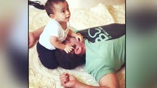This Super Cute Video Of Salman Khan Singing Sultan's Title Track To Nephew Aahil Is Unmissable