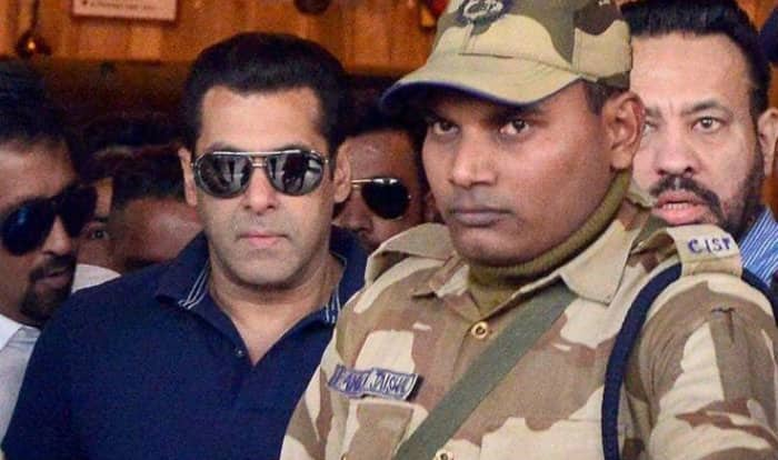 Arms Act Case: Salman Khan appears before Jodhpur court, signs bail bond
