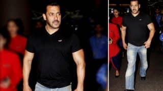 Salman Khan Returns To Mumbai To Celebrate Ganesh Chaturthi With Family-View Pics