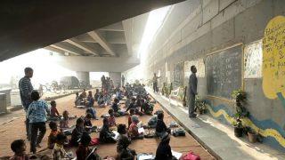 School Under Delhi Metro Bridge Gives Hope to The Underprivileged children
