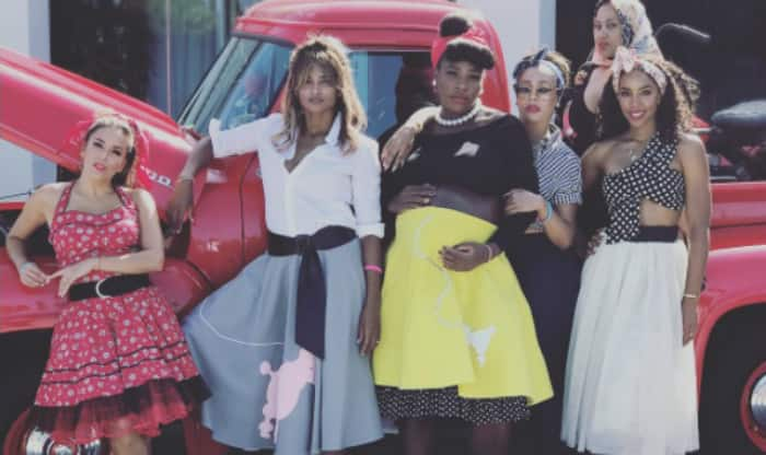 Gorgeous! Photos of Serena Williams' Star-Studded '50s-Themed Baby Shower