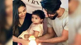 Misha Cutting Her Birthday Cake With Shahid Kapoor and Mira Is Too Adorable To Be Missed