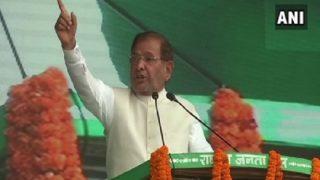 People's Mandate Insulted in Bihar, Says JD(U) Rebel Sharad Yadav at 'BJP Bhagao Rally'
