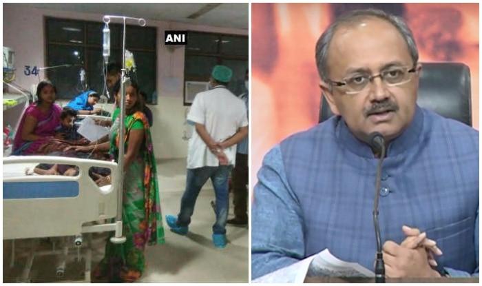 स्वास्थ्य मंत्री सिद्धार्थनाथ सिंह ने प्रेस कॉन्फ्रेंस की