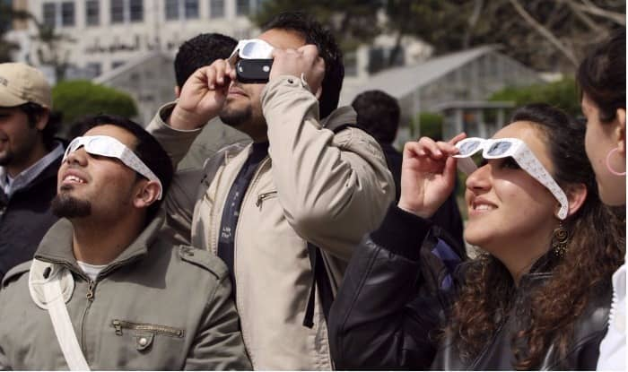 Solar Eclipse Safety Glasses (Representational image)