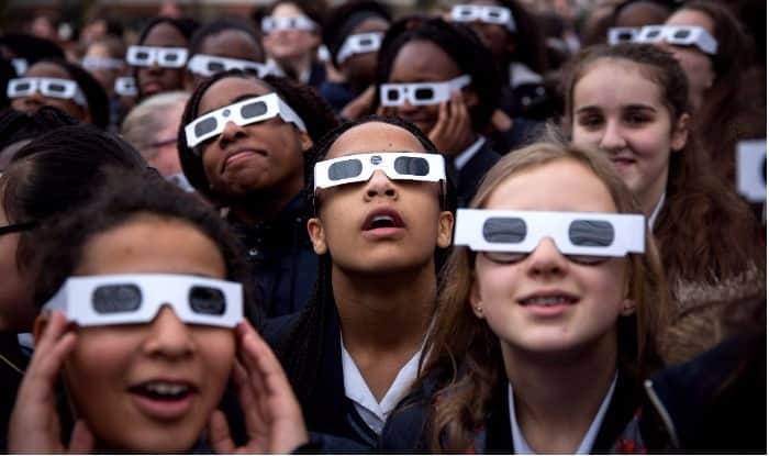 How to watch the eclipse without fancy glasses