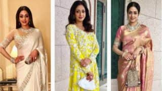 Happy Birthday Sridevi: 6 Times the Legendary Actress Proved She's a Style Diva
