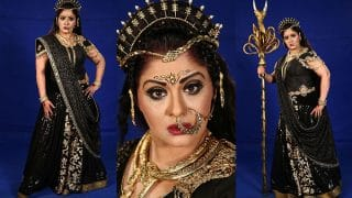 Sudha Chandran's Ferocious Avatar As Simhika Will Make You Excited For Colors' Karamphal Data Shani