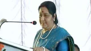 India Always Saw Transfer of Powers Through Ballot, Not Bullet, Says Sushma Swaraj in Nepal