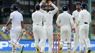 India vs Sri Lanka 3rd Test Day 4: Hosts Inch Closer to Win in Kotla Test After Picking Three Late Wickets
