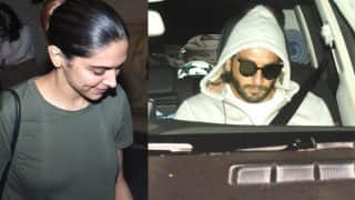 After Meeting Irrfan Khan And Vishal Bhardwaj, Deepika Padukone Catches Up With Ranveer Singh