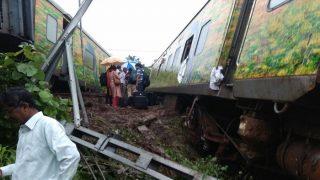 Nagpur-Mumbai Duronto Express Gets Derailed Near Titwala in Maharashtra, Several Trains Diverted