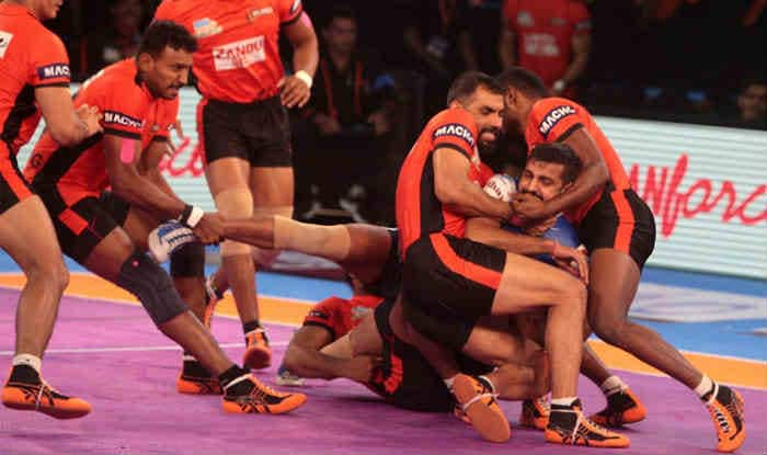 File picture of U Mumba players