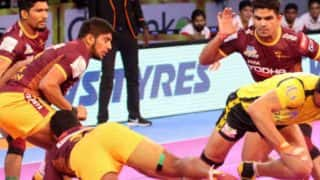Dabang Delhi KC vs UP Yoddha PKL 5: UP Thump Delhi 45-16