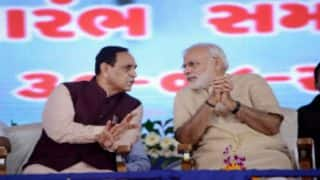 Gujarat Elections 2017: BJP All Set To Sweep Gujarat Polls, Vijay Rupani Favourite for Chief Minister, Says Opinion Poll