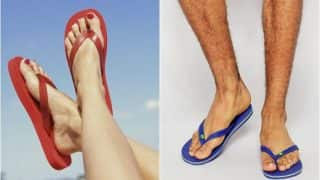चप्पल वापरणे पायांसाठी ठरू शकते हानिकारक