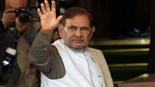 If to Speak Against Undemocratic Style is My fault, I Will Continue to Fight to Save Democracy: Sharad Yadav