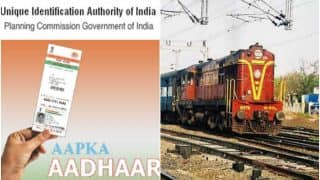 Aadhaar Not Mandatory For Booking Rail Tickets, Says Centre