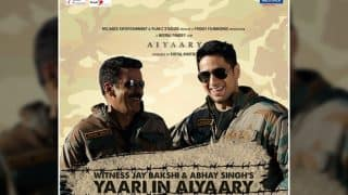 Here's What Sidharth Malhotra – Manoj Bajpayee's Aiyaary Is All About