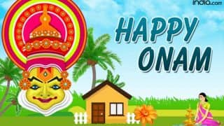 Happy Onam Wishes in Malayalam: Onam 2017 WhatsApp GIF Images, Messages, Quotes & Greetings to Celebrate Kerala's Harvest Festival