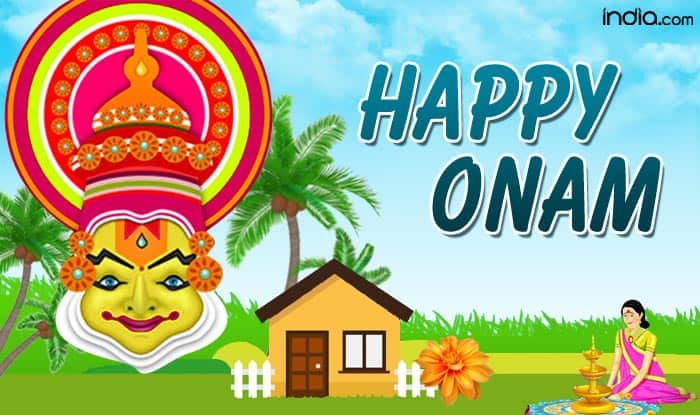 Onam - festival of Kerala that celebrates nature's bounty