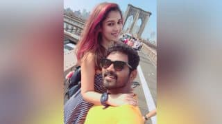 Naanum Rowdy Dhaan Director Vignesh Shivn Celebrates Birthday With Nayanthara In New York