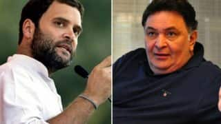 Rishi Kapoor Lashes Out at Rahul Gandhi Over 'Dynasty' Remark, Advises Him to Earn People's Respect