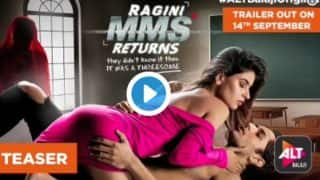 Ragini MMS Returns Teaser OUT: A Bikini Clad Karishma Sharma And A Demurely Clad Ghost In A Saree Are The Highlights Of This Web Series