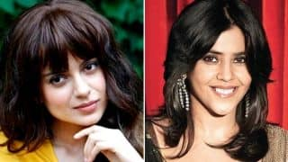 After Karan Johar, Did Ekta Kapoor Take A Jibe At Kangana Ranaut's AIB Video?