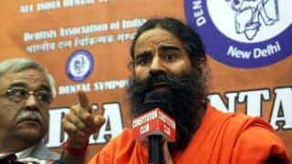 Baba Ramdev Asks Govt to Take Initiative For Construction of Ram Temple in Ayodhya