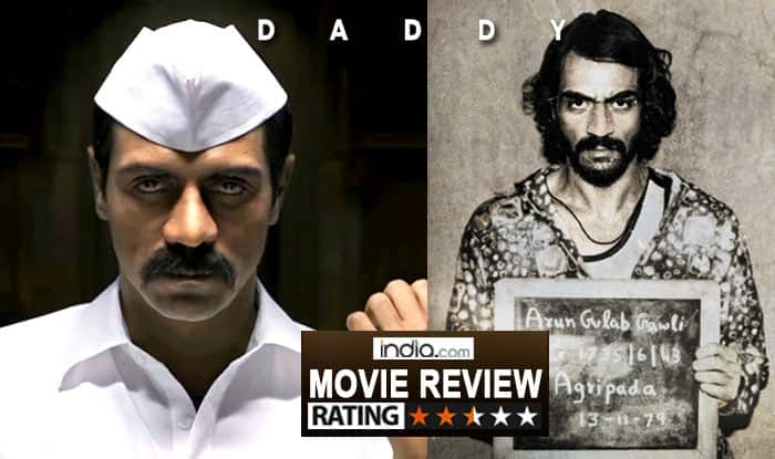 daddy movie review arjun rampals film misses a few shots