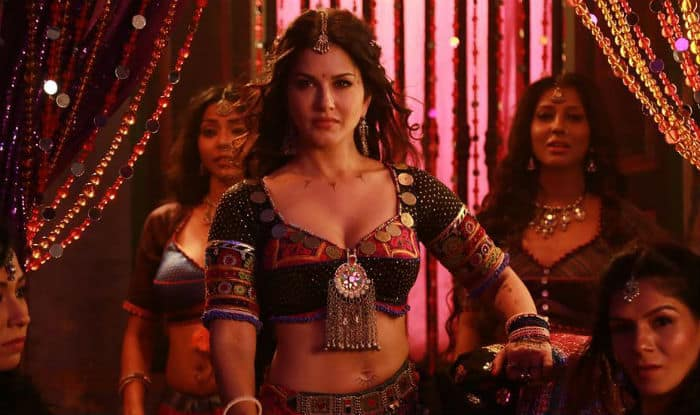 Image result for play navratri with sunny leone