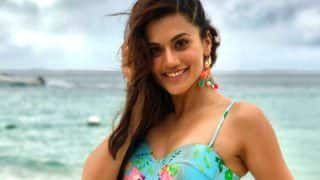 Taapsee Pannu Shares A Pic From Judwaa 2 But Gets Trolled For Wearing A Bikini