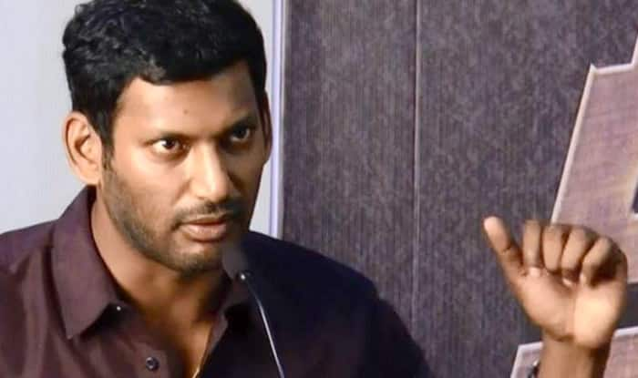 Tamil actor Vishal to contest RK Nagar bypoll