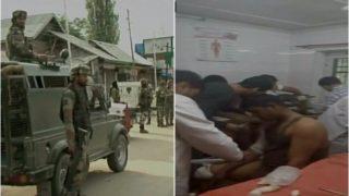 जम्मू-कश्मीर के अनंतनाग में CRPF के काफिले पर आतंकी हमला,  4 जवान घायल