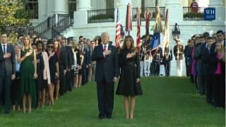 Donald Trump, Melania Lead US to Commemorate 9/11 Anniversary With Moment of Silence