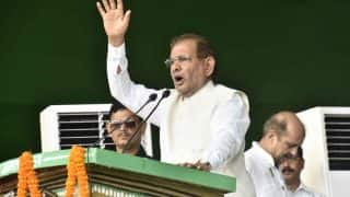 Sharad Yadav to Float New Party by February, Submits Application to Election Commission