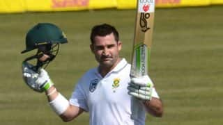 South Africa vs Bangladesh 1st Test: Proteas End Day 1 on 298/1 After Dean Elgar's Century