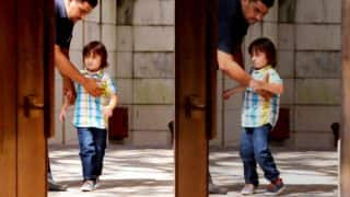 Is Abram Khan Trying To Find Daddy Shah Rukh Khan? (View Pics)