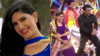 Bigg Boss 11 Contestant Sapna Chaudhury Sizzles with Abhay Deol in New Song 'Tere Thumke' from 'Nanu ki Jaanu' film