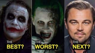 Leonardo DiCaprio is The Next Joker? 5 Actors Who Portrayed the Role of Iconic Batman Villain